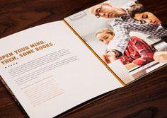 DePaul University Admissions Booklet on Behance