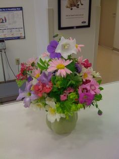 Flower arrangement by Dr.