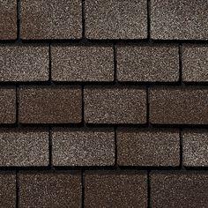 Middlebury Brown #gaf #designer #roof #shingles #swatch