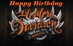 50 Hd Birthday Ideas Happy Birthday Harley Happy Birthday Harley Davidson Harley Davidson Birthday