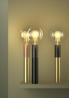 We would love to see our WattNott bulbs in these beautiful shades. http://www.plumen.com ed030 – EDIZIONI DESIGN