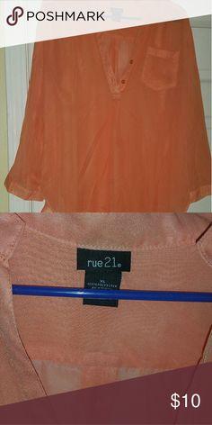 Rue 21 shirt XL shirt NWOT Rue 21 Tops Tunics
