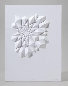 paper folds by matt shlian for ghostly