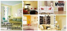 Entérate, ¿cómo pintar una sala pequeña para que se vea más amplia? visita: https://www.facebook.com/photo.php?fbid=473578696037600=a.158895964172543.38708.158856720843134=1