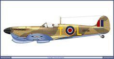 Supermarine Spitfire MK Vb 249 Dywizjon RAF (1942)