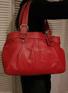 Tignanello Large Handbag Purse Black PEBBLED Leather Same Day ...