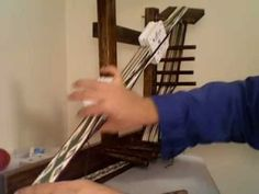 Beating down the shed: Tablet Weaving Vid