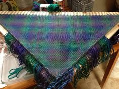 My first tri loom project