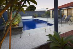 Pool Surrounds | Liquid Limestone & Polished Concrete - Terrastone