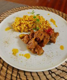 Χοιρινή τηγανιά | Cookos Grains, Rice, Meat, Chicken, Recipes, Food, Recipies, Essen, Meals