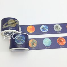 Use these tapes as a border to make unique scrapbook pages! This tape has the perfect amount of adhesive; letting the tape hold firm when it needs to and; if needed; being able to remove with minimal