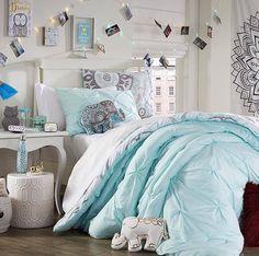 Blue rue 21 bedding