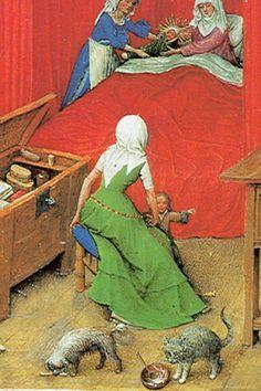 sleeveless kirtle, 1422-1424