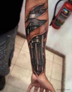 Amazing 3D Tattoo Arts (5 Pics) | Read More Info