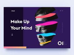 Colorful homepage animated #homepage #tips #webdesign #webdesigners #websitedesign