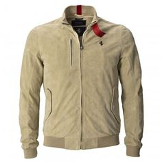 Men's Prancing Horse leather bomber jacket - Spring Summer 2016 Cavallino Collection - Special Categories