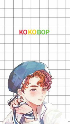 How can some people draw stuff like this when not even my lines are straight? Suho Exo, Kpop Exo, Exo Cartoon, 5 Years With Exo, Exo Official, Exo Fan Art, Exo Lockscreen, Kpop Drawings, Kim Junmyeon