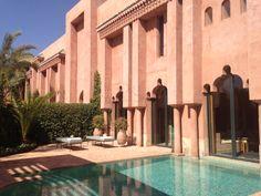 Amanjena, Marrakech, Morocco Marrakech Morocco, Moroccan Design, Resorts, Islamic, Modern, Adobe, Vacation, Mansions, House Styles