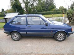 Ford Fiesta Mk2 1.1l 1988 - http://classiccarsunder1000.com/archives/817