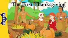 The First Thanksgiving | History | Holidays | Little Fox | Animated Stories for Kids