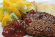 Low Carbs High Fat: Taco Burgers Recipe