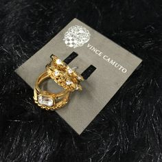 """Selling this """"LISTING Vince Camuto 5 Ring Set"""" in my Poshmark closet! My username is: cindyciara. #shopmycloset #poshmark #fashion #shopping #style #forsale #Vince Camuto #Jewelry"""