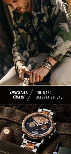 """The Marc"" crafted to withstand the thrill of adventure!"