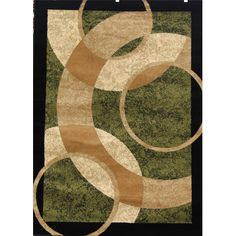 Persian-rugs Abstract Green Area Rug & Reviews   Wayfair #BestAreaRugs