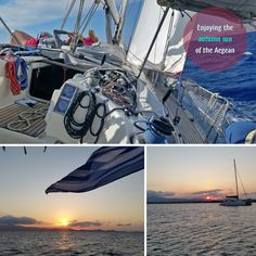 Naxos Sailing tour - Autumn 2017. Fantastic weather, great people on board.