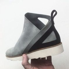 First sample of the @mrbailey_ x @eknfootwear