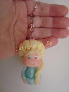 Chaveiro Elsa (Frozen) Ateliê Juliana de Sá e-mail: julianah.sa@hotmail.com