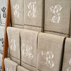 Grand Sewing Embroidery Designs At Home Ideas. Beauteous Finished Sewing Embroidery Designs At Home Ideas. Embroidery Monogram, Embroidery Fonts, Vintage Embroidery, Embroidery Patterns, Hand Embroidery, Pillow Embroidery, Sewing Machine Embroidery, Lazy Daisy Stitch, Linens And Lace