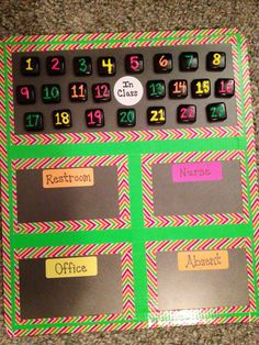 Saw this on Pinterest but changed it slightly. A great way to keep track of…