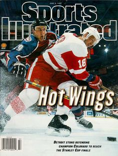 Kirk Maltby, SI Cover, 1997 he got so much crap for this lol
