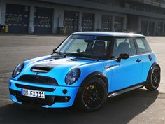 CoverEFX revealed two new Mini Cooper JCW GP R53 models