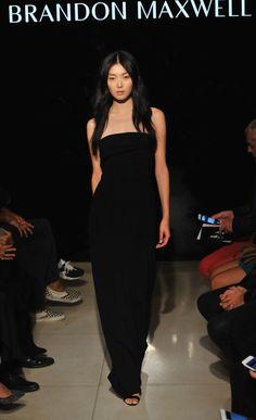 Kim Sung Hee - Brandon Maxwell Spring 2016 NYFW