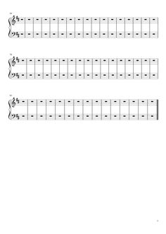 Sheet music made by peppini01 for Piano