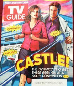 Castle TV Guide cover