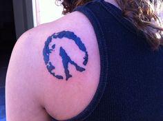 Horse Hoof Print Tattoos |