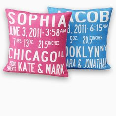 subway art pillow