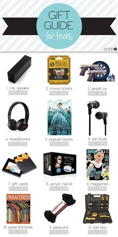 2015 Gift Guide for Teenagers found on howdoesshe.com