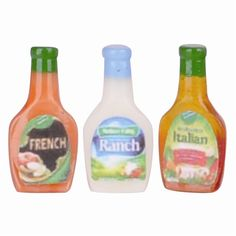 Three Piece Salad Dressing Set