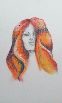N°2 série portrait by Lise