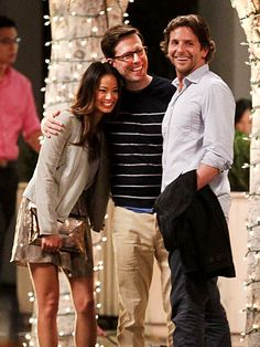 love this picture... and not gonna lie, ed helms > bradley cooper ... #sorrynotsorry