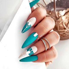 Best Acrylic Nails, Acrylic Nail Designs, Nail Art Designs, Classy Nail Designs, Beautiful Nail Designs, Hot Nails, Swag Nails, Nail Design Stiletto, Sassy Nails