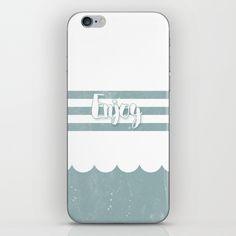 Enjoy Sea iPhone & iPod Skin
