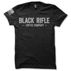 BRCC Company T-Shirt Gray Logo: vintage - Black Rifle Coffee Company - 1