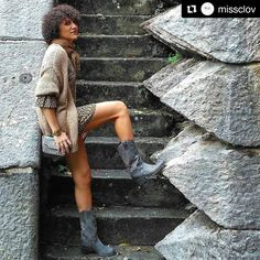 #Repost @missclov Dress  Sendra Boots for today!  #sendra #sendraboots #highquality #handmadeboots #madeinspain #loveboots #fashionboots #fashion #design #trend #look #streetstyle #style #outfit #ootd #outfitoftheday #bestoftheday #photooftheday #picoftheday #girl #woman #love #walktheworld #walklikeus