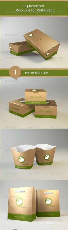 Download GraphicRiver free PSD – Mock-ups for Restaurant 2822517 in psd sources