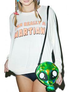 We R not da same #DollsKill #alien #martians #space #lookbook #photoshoot #model